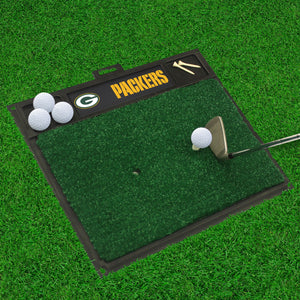 "Green Bay Packers  Golf Hitting Mat - 20"" x 17"""