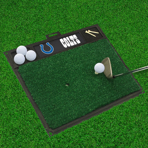 "Indianapolis Colts  Golf Hitting Mat - 20"" x 17"""