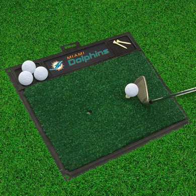 Miami Dolphins  Golf Hitting Mat - 20