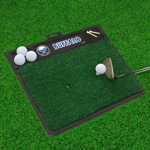 "Buffalo Sabres  Golf Hitting Mat 20"" x 17"""