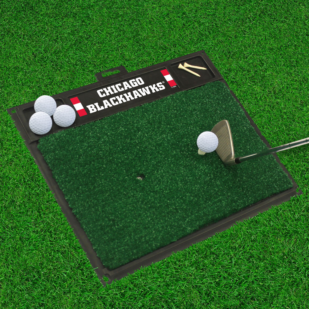 Chicago Blackhawks  Golf Hitting Mat 20