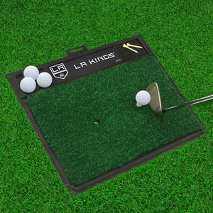 "Los Angeles Kings  Golf Hitting Mat 20"" x 17"""