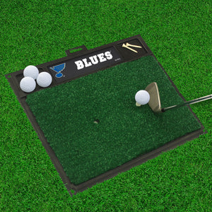 "St. Louis Blues  Golf Hitting Mat 20"" x 17"""