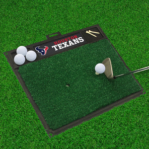 "Houston Texans  Golf Hitting Mat - 20"" x 17"""