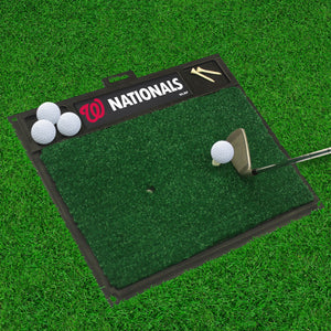 "Washington Nationals Golf Hitting Mat 20"" x 17"""