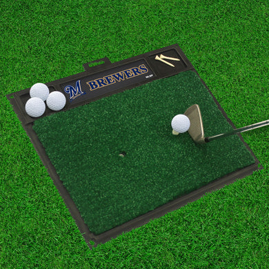 Milwaukee Brewers Golf Hitting Mat 20