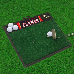 "Calgary Flames  Golf Hitting Mat 20"" x 17"""