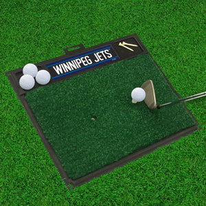 "Winnipeg Jets  Golf Hitting Mat 20"" x 17"""