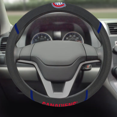 Montreal Canadiens Steering Wheel Cover