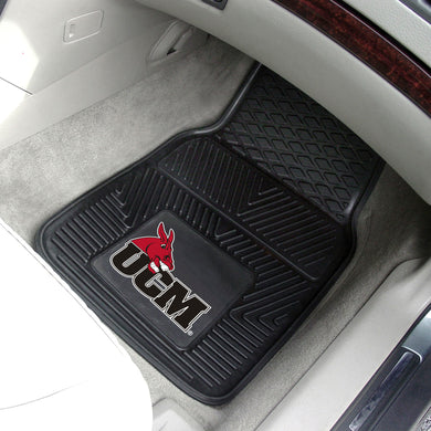 Central Missouri Mules 2 Piece Vinyl Car Mats - 18