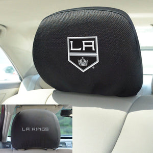 Los Angeles Kings Set of 2 Headrest Covers