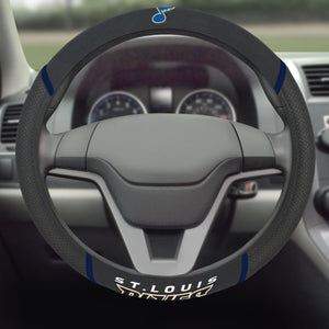 St. Louis Blues Steering Wheel Cover