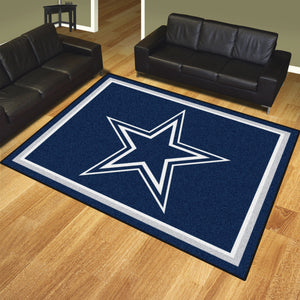 Dallas Cowboys Plush Area Rugs -  8'x10'