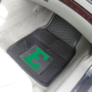 "Eastern Michigan Eagles 2 Piece Vinyl Car Mats - 18""x27"""