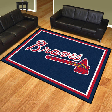 Atlanta Braves Plush Rug - 8'x10'