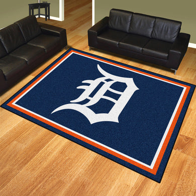Detroit Tigers Plush Rug - 8'x10'