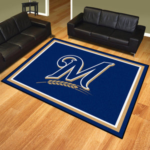 Milwaukee Brewers Plush Rug - 8'x10'