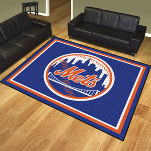New York Mets Plush Rug - 8'x10'