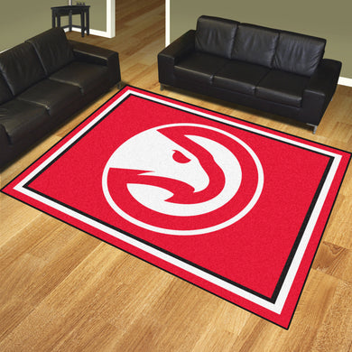 Atlanta Hawks Plush Rug - 8'x10'