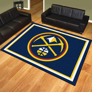 Denver Nuggets Plush Rug - 8'x10'