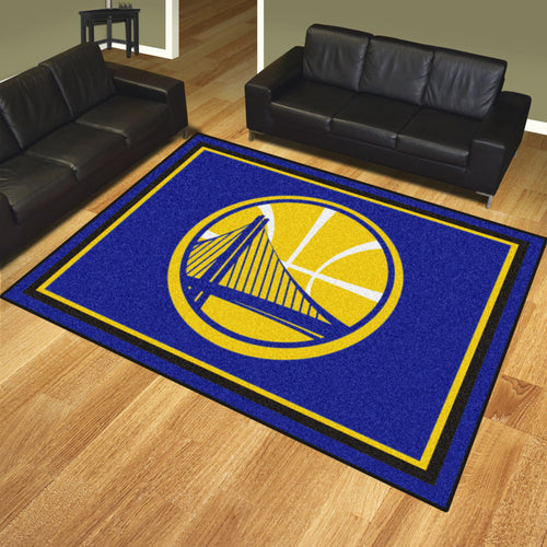 Golden State Warriors Plush Rug - 8'x10'