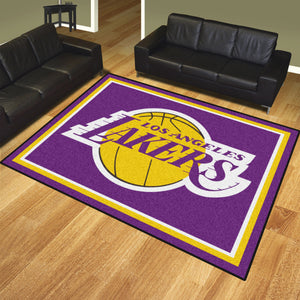 Los Angeles Lakers Plush Rug - 8'x10'