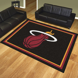 Miami Heat Plush Rug - 8'x10'
