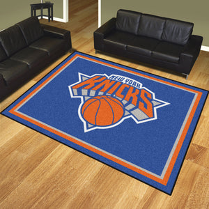 New York Knicks Plush Rug - 8'x10'