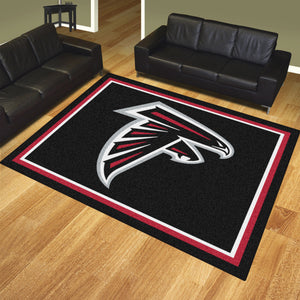 Atlanta Falcons Plush Area Rugs -  8'x10'