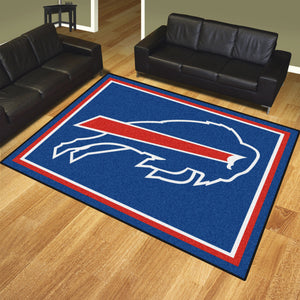 Buffalo Bills Plush Area Rugs -  8'x10'