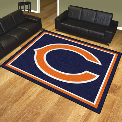 Chicago Bears Plush Area Rugs -  8'x10'