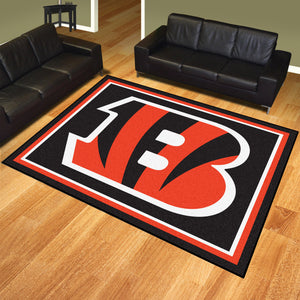 Cincinnati Bengals Plush Area Rugs -  8'x10'
