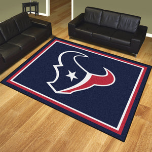 Houston Texans Plush Area Rugs -  8'x10'