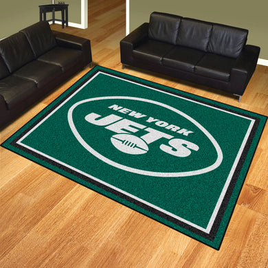 New York Jets Quick Plush Area Rugs -  8'x10'