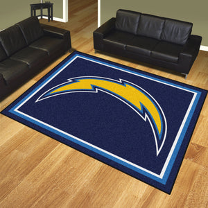 Los Angeles Chargers Plush Area Rugs -  8'x10'