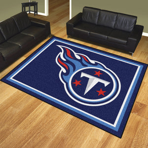 Tennessee Titans Plush Area Rugs -  8'x10'