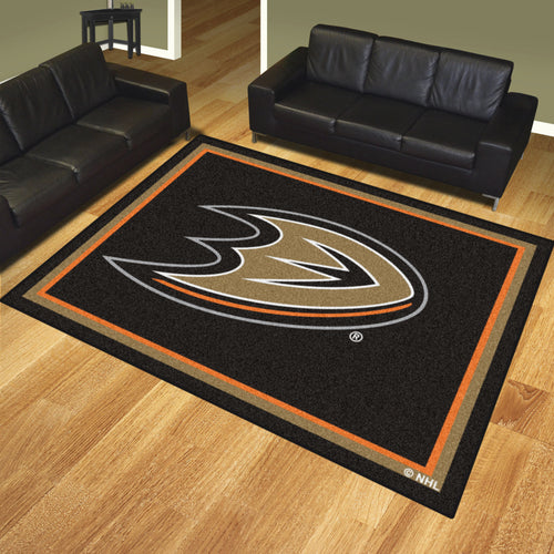 Anaheim Ducks Plush Rug - 8'x10'
