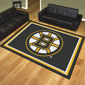 Boston Bruins Plush Rug - 8'x10'