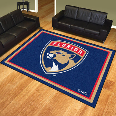 Florida Panthers Plush Rug - 8'x10'