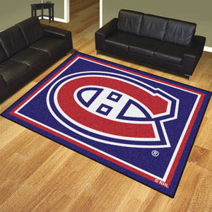 Montreal Canadiens Plush Rug - 8'x10'