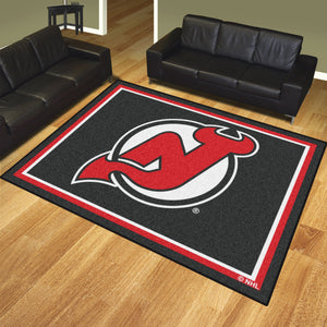 New Jersey Devils Plush Rug - 8'x10'