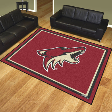 Arizona Coyotes Plush Rug - 8'x10'