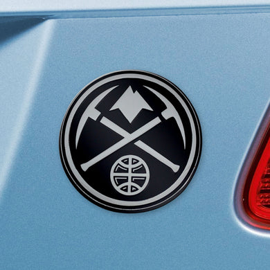 Denver Nuggets Chrome Auto Emblem