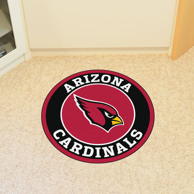 Arizona Cardinals Round Mat - 27
