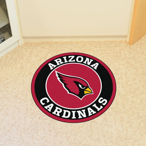 Arizona Cardinals Round Mat - 27""