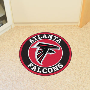 Atlanta Falcons Round Mat - 27""