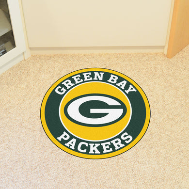Green Bay Packers Round Mat - 27