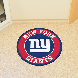 New York Giants Round Mat - 27""