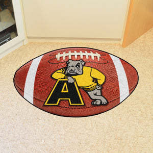 "Adrian College Bulldogs Football Rug - 20.5""x32.5"""