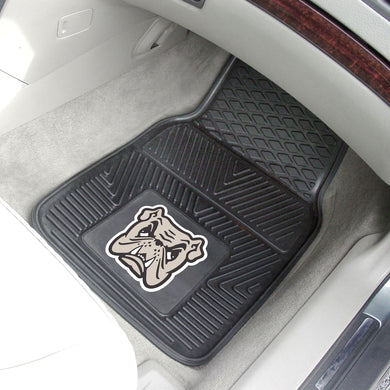 College football memorabilia Adrian College Bulldogs 2-piece vinyl car mats from Sports Fanz